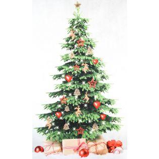 Dekostoff - Weihnachtsbaum - Panel