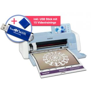 Brother SDX1200 Scan-N-Cut DX Hobbyplotter inkl. Videotraining