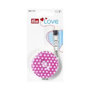 Prym Love - Rollmaßband - 150cm - pink