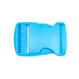 Steckschnalle - 38 mm - blau