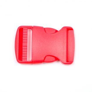 Steckschnalle - 38 mm - rot