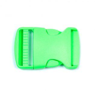 Steckschnalle - 38 mm - grün