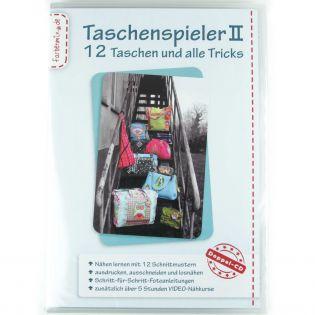 Schnittmuster - Taschenspieler 2 Doppel-CD mit 12 Taschenchnittmustern