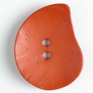 2-Loch-Knopf - 50 mm - Blatt - orange
