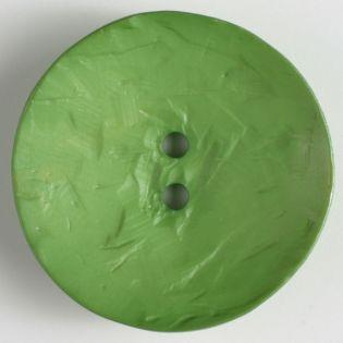2-Loch-Knopf - 60 mm - rund - grün
