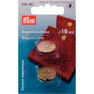 Prym - Magnetverschluss -  19mm - gold