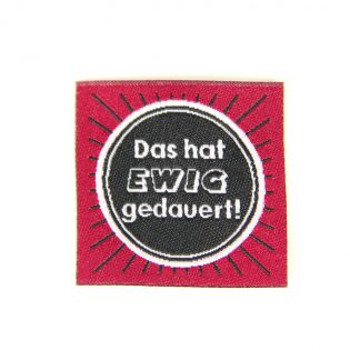 Label - Ewig - weinrot