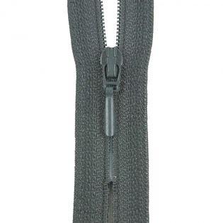 Reißverschluss Opti - S40 - 15cm - Tropfenschieber - nicht teilbar - granit