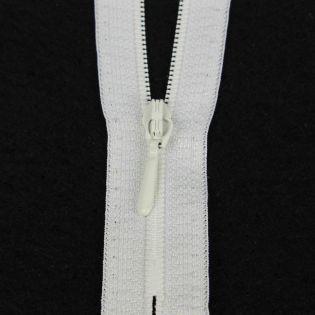 Reißverschluss Opti - S40 - 15cm - Tropfenschieber - nicht teilbar - wollweiß