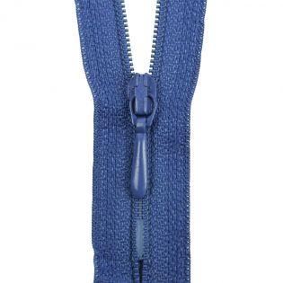 Reißverschluss Opti - S40 - 15cm - Tropfenschieber - nicht teilbar - royalblau