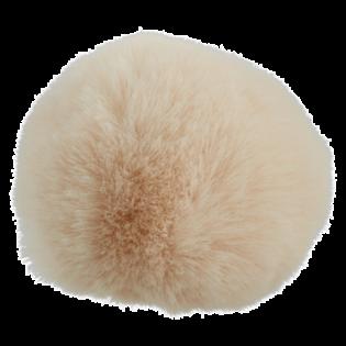 Pompon - Fake Fur - 80 mm - beige