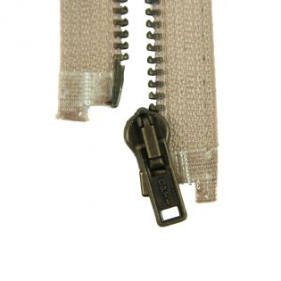 Reißverschluss Opti - M40-gold - 30cm - Werraschieber - teilbar - beige
