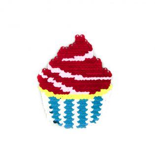 Applikation - Wendepailletten - Cupcake
