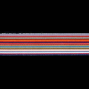 Ripsband - Rainbow - 25 mm - orange