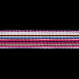Ripsband - Rainbow - 25 mm - lila