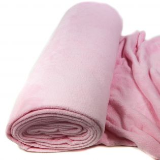 Wellnessfleece - uni - rosa
