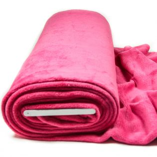 Wellnessfleece - uni - pink