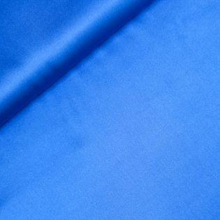 Seidenstretch - uni - blau