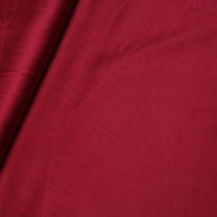 Seidenstretch - uni - rot