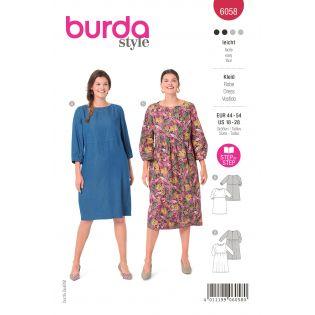 Schnittmuster - burda style - Plus Size - Kleid - 6058
