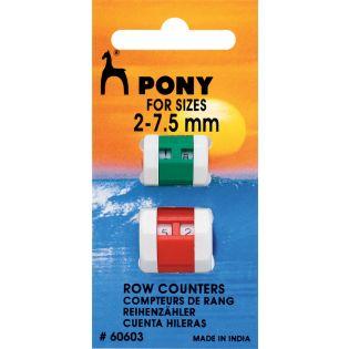 PONY - Reihenzähler-Set - 2-7,5 mm