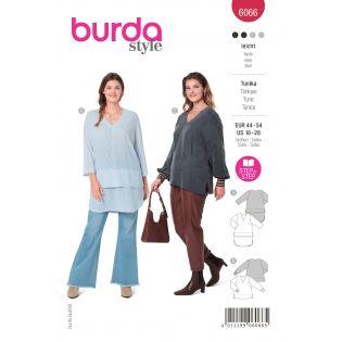Schnittmuster - burda style - Plus Size - Tunika - 6066