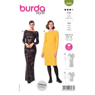 Schnittmuster - burda style - Kleid - Abendkleid - 6068
