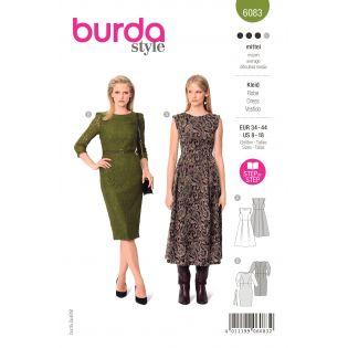 Schnittmuster - burda style - Festliches Kleid - Schmales Spitzenkleid - 6083