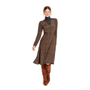 Schnittmuster - burda style - Kleid in Wickeloptik mit Gummidurchzug - 6091