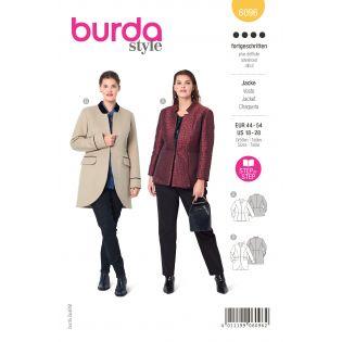 Schnittmuster - burda style - Jacke mit Schößchen - 6096
