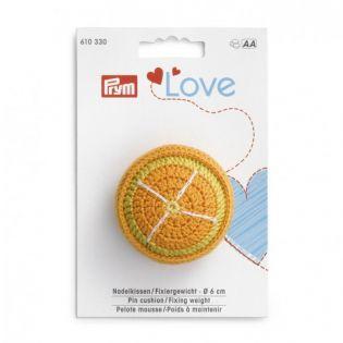 Prym Love Nadelkissen und Fixiergewicht - Orange