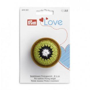 Prym Love Nadelkissen und Fixiergewicht - Kiwi