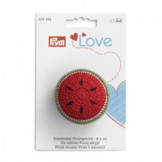 Prym Love Nadelkissen und Fixiergewicht - Melone