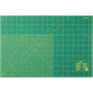 Schneidematte - 45x60 cm - grün