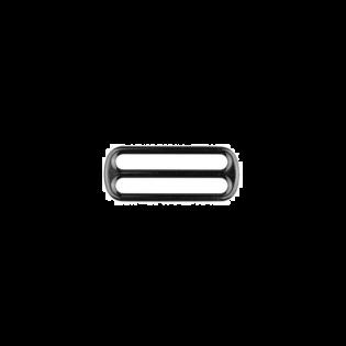 Metall Leiterschnalle - 40mm - Anthrazit