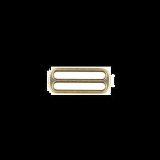 Metall Leiterschnalle - 40mm - Brüniert