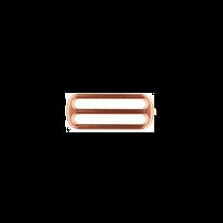 Metall Leiterschnalle - 40mm - Kupfer