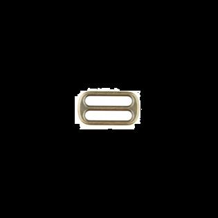 Metall Leiterschnalle - 25mm - Brüniert
