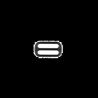 Metall Leiterschnalle - 25mm - Schwarz