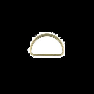 Metall D-Ring - 40mm - Brüniert