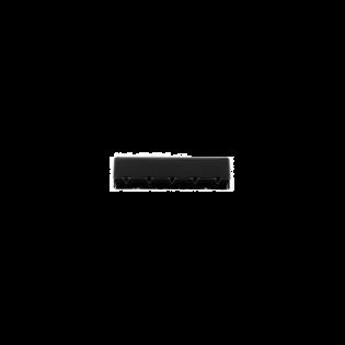 Metall-Endstück - 40mm - Anthrazit