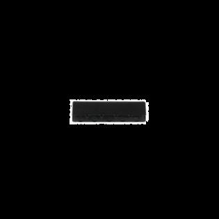 Metall-Endstück - 40mm - Schwarz