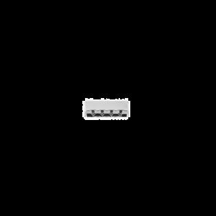 Metall-Endstück - 25mm - Silber
