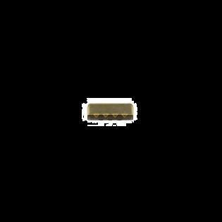 Metall-Endstück - 25mm - Brüniert