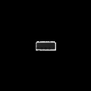 Metall-Endstück - 25mm - Schwarz