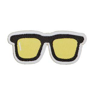 Applikation - gewebt - Sonnenbrille