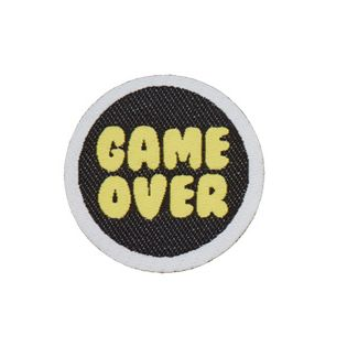 Applikation - gewebt - Game over