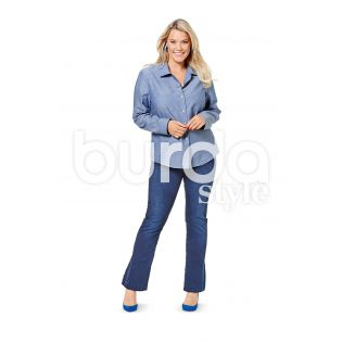 Schnittmuster - burda style - Plus Size - Bluse - 6614