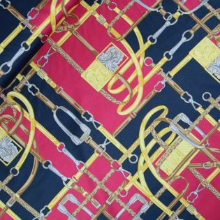 Satin - Burda style - Steigbügel