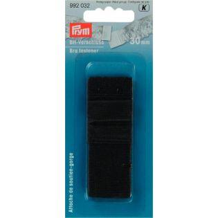 Prym - BH-Verschluss - 30 mm - schwarz